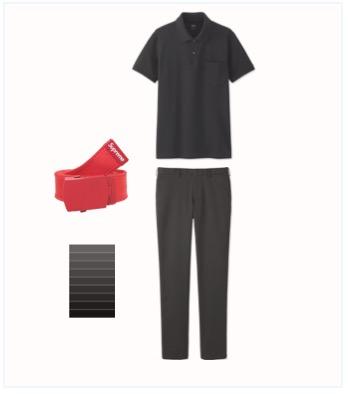 ゴルフ  服装