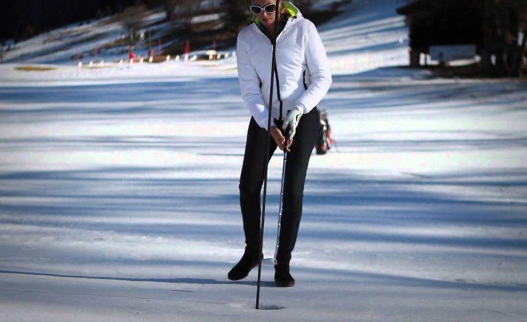 冬 ゴルフ