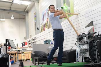 Golf measuring instrument