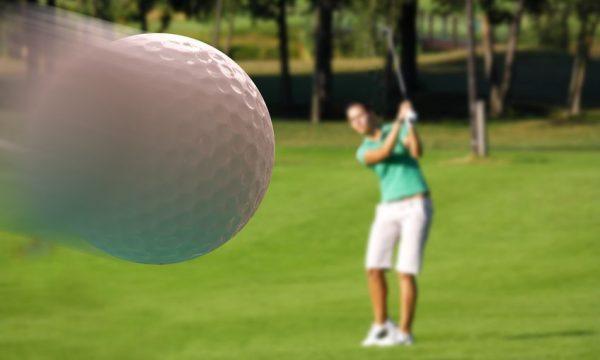 Golf strong ball