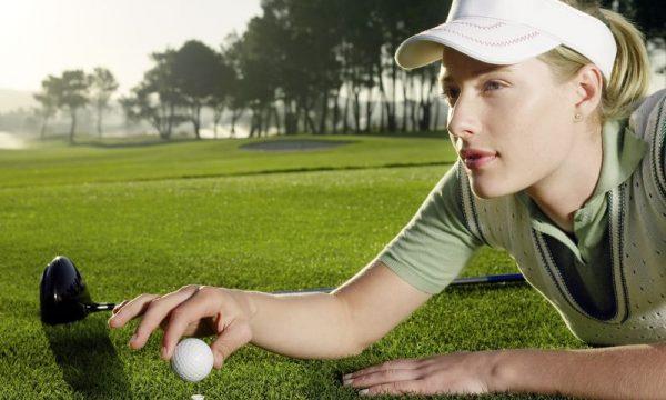 Golf polo shirt ladies