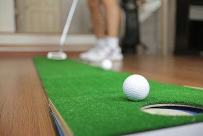 Home golf