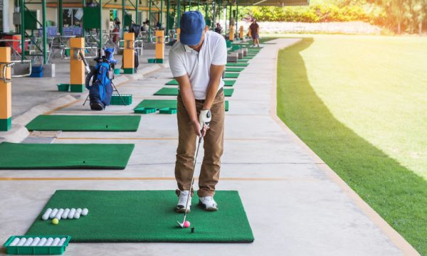 Golf impact breathing