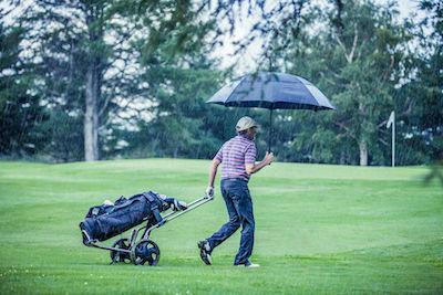 Golf rain