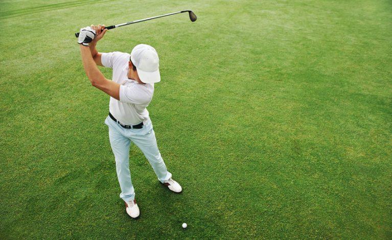 Golf swing head