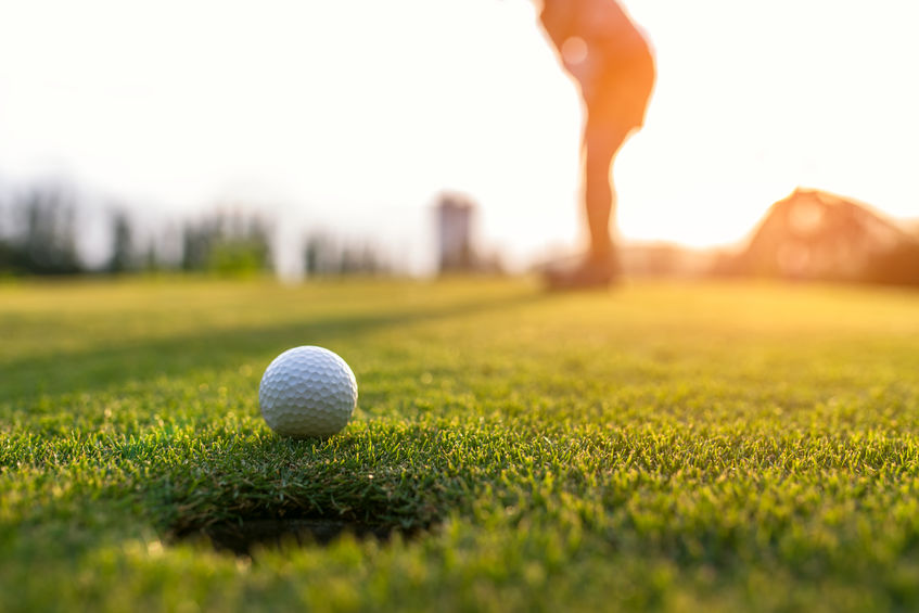 Golf ball backspin