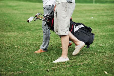 Golf tired