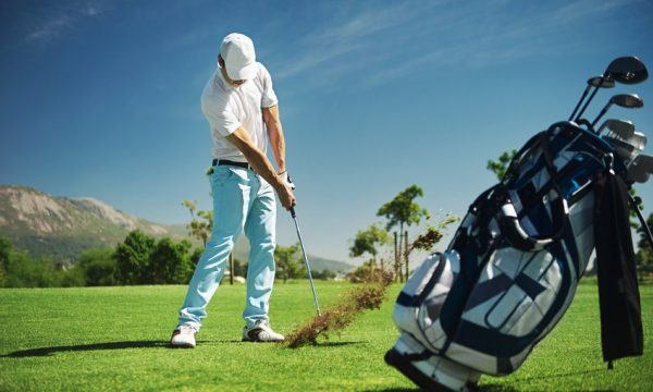 Golf duffing does not heal