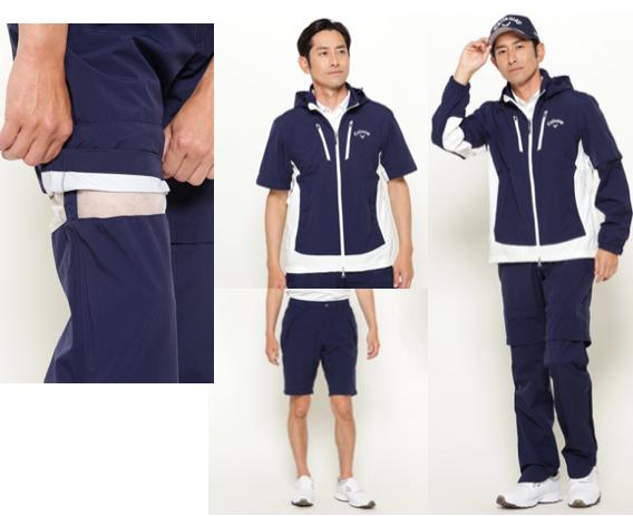 Golf rainwear