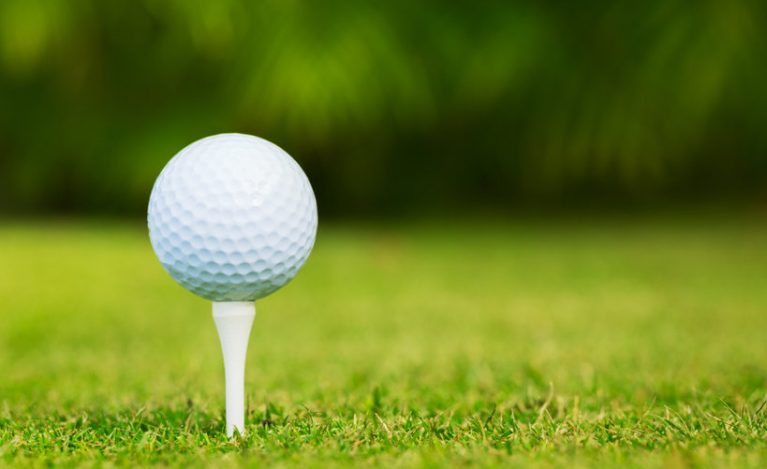 Golf tee up