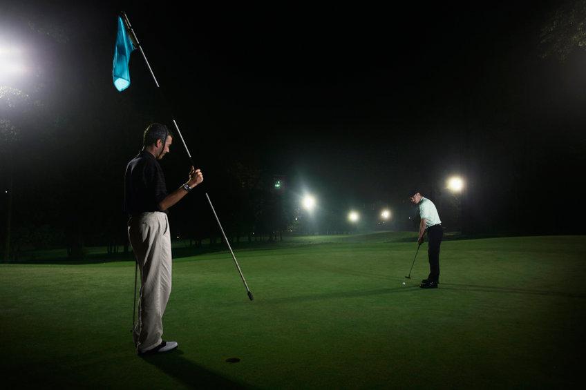 ナイトゴルフ場