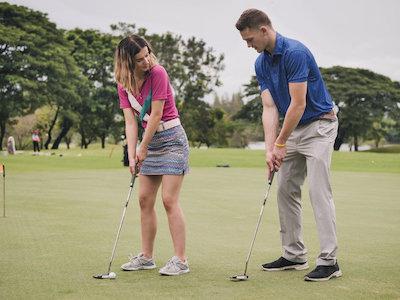 Golf corona