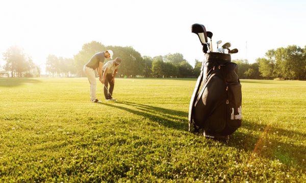 Golf round lesson fee