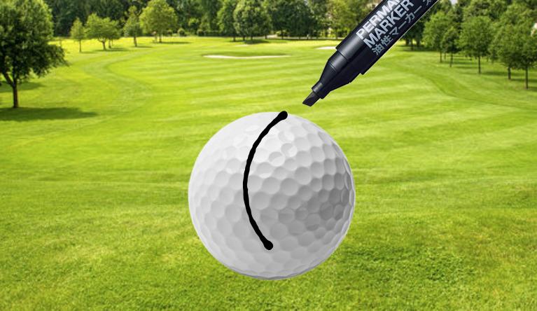 Golf ball line