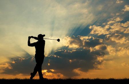 Golf dusk